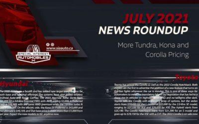 Auto News July 2021